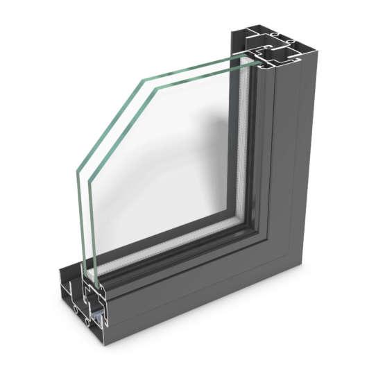 rp fineline 50S – elegant schmales Stahl-Profilsystem für Schiebelemente