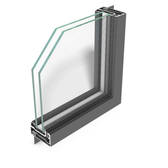rp fineline 60W – steel profile system for windows, featuring uniquely slim face widths