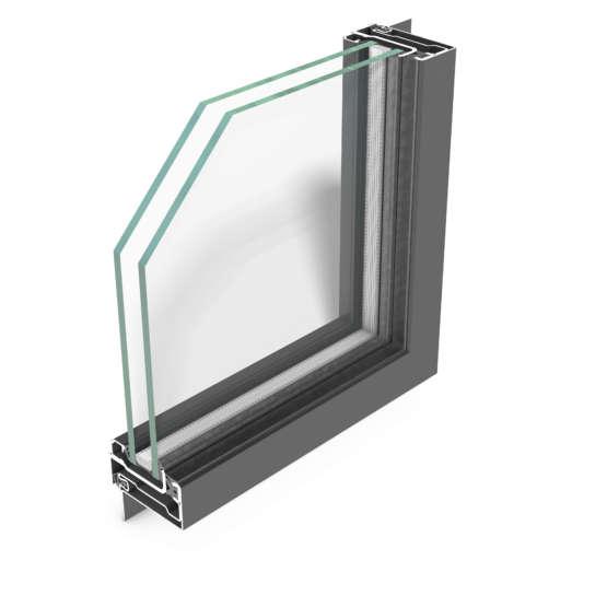 rp fineline 60W – Stahl-Profilsystem für Fenster mit einzigartig schmalen Ansichtsbreiten