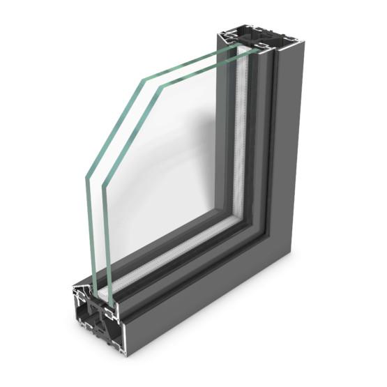rp fineline 70W – wärmegedämmtes Designsystem für Stahlfenster mit extrem schmalen Ansichtsbreiten