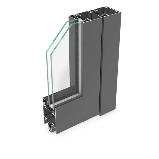 rp hermetic 70D – thermally insulated steel door profile system