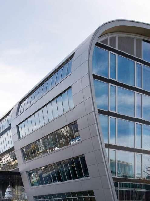 Kameah Bonn Stahl Aufsatzfassade rp tec 55-1 Detail Vorschau