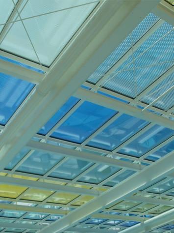 Badepark Waldkirchen Stahl Aufsatzfassade Rp Tec 60 1 Dach Innen