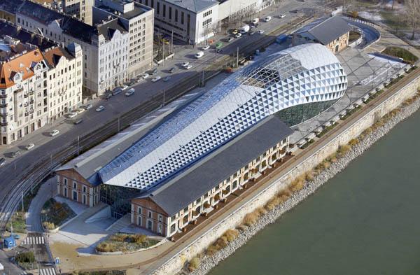 Balna Center Ganzglas Fassadensystem Rp Tec 55 1SG Aufsicht