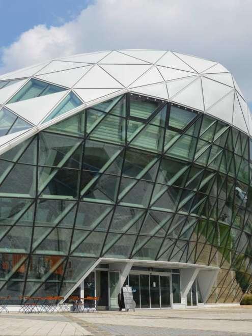 Balna Center Ganzglas Fassadensystem rp tec 50-1SG Front Vorschau
