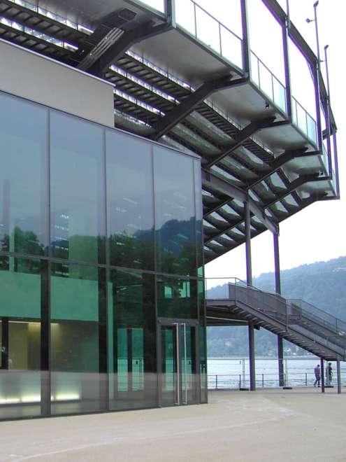 Bregenz Festpielhaus Aufsatzfassade rp tec 50-1SG Außen Vorschau