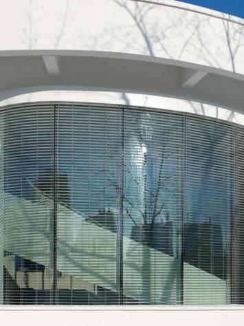Buero Saegeling Stahl Aufsatzfassade Rp Tec 55 1 Aussen Detail