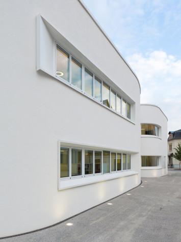 Buero Saegeling Stahl Aufsatzfassade Rp Tec 55 1 Fenster