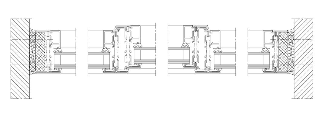 Digitales Zentrum Schwaben Stahlfenster System rp fineline Schnitt Aussenansicht