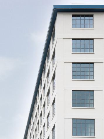 Eiffel Masstricht Design Stahl Fenstersystem Rp Fineline 70W Fassade Detail