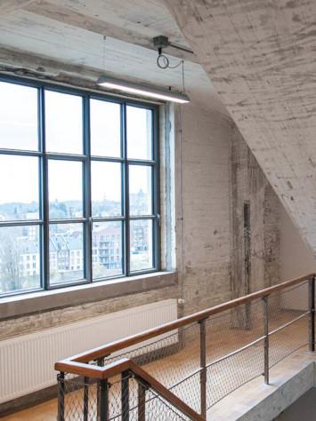 Eiffel Masstricht Design Stahl Fenstersystem Rp Fineline 70W Innen