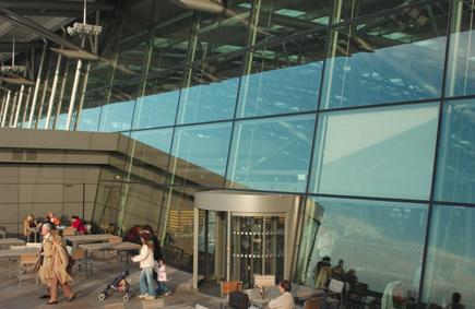 Flughafen Hamburg Stahl Aufsatzfassade Rp Tec 60 1 Innen
