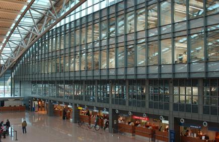 Flughafen Hamburg Stahl Aufsatzfassade Rp Tec 60 1 Stirnflaeche Innen