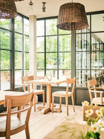 Hotel Barefoot Stahlfenstersystem Rp Fineline 70W Totale