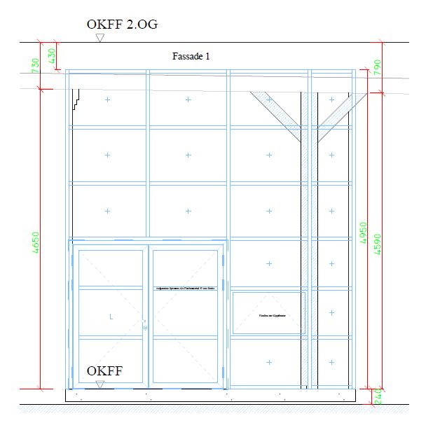 Hotel Fishers Loft Fassadensystme Rp Fineline 70W Rp Tec 55 Schnitt 1