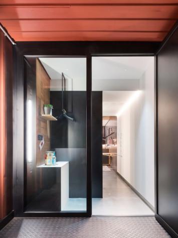 Hotel Meeresbummler Stahl Glas System Rp Hermetic 70D Detail