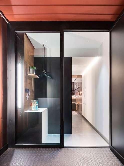 Hotel Meeresbummler Stahl-Glas System Rp Hermetic 70D Detail Vorschau