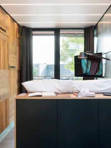Hotel Meeresbummler Stahl Glas System Rp Hermetic 70D Innen