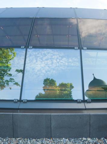 Hotel Montabauer Glasdach Rp Tec 55 1 Kuppel Spiegelung