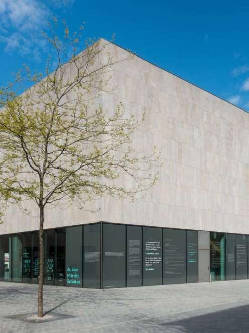 Juedisches Museum Muenchen Aufsatzfassade rp tec 55-1SG Gesamt Vorschau