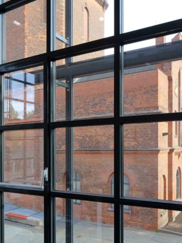Luebeck Gaswerk Stahlfenster System Rp Fineline 70W Detail
