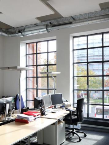Luebeck Gaswerk Stahlfenster System Rp Fineline 70W Innen