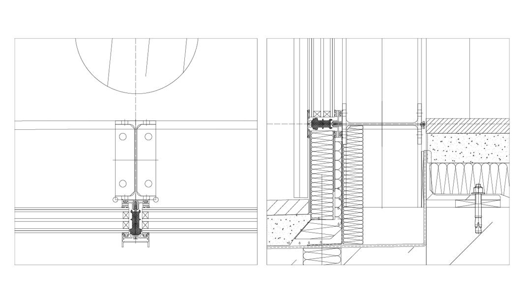 Reischlhof Sperlbrunn Stahl Aufsatzfassade Rp Tec 55 1 Schnitt
