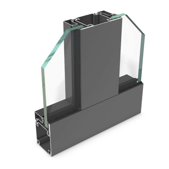 rp hermetic 55FP-30 – steel profile system for fire protection doors and partition walls