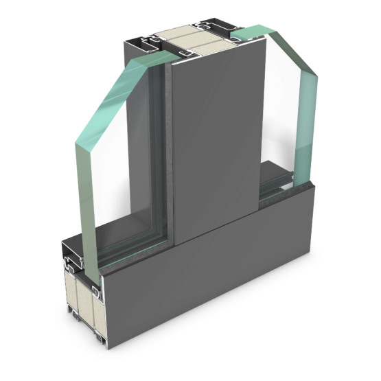rp hermetic 70FP-60 – thermally insulated steel profile system for EI60-compliant fire and smoke protection doors and partition walls