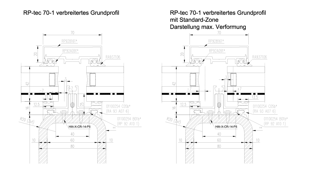 Therme Euskirchen rp Tec50 1 Aufsatzfassade Schnitt