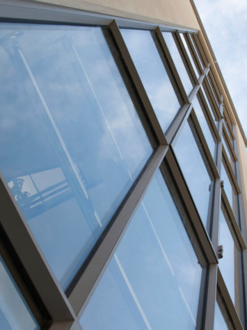 Villa Kimi Bloemendaal Design Stahl Fenstersystem Detail