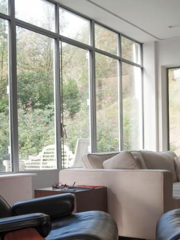 Villa Kimi Bloemendaal Design Stahl Fenstersystem Innen