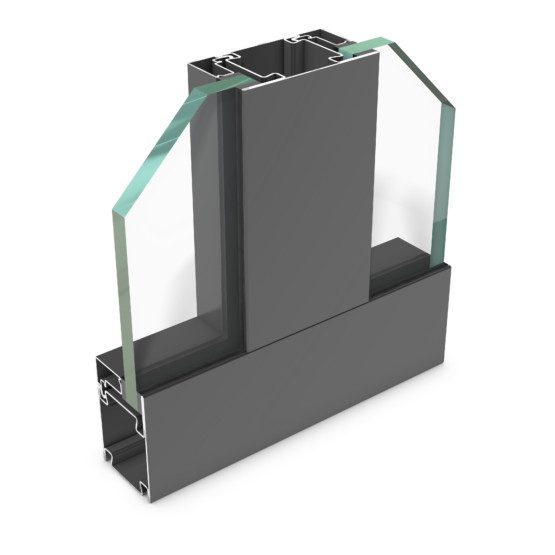 rp hermetic 55FP-120 – steel profile system for fire protection partition walls to E120/EW120