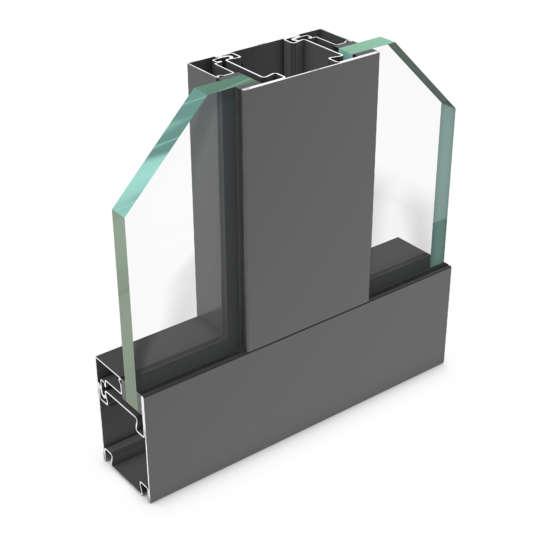 rp hermetic 55FP-120 – Stahl-Profilsystem für Brandschutztrennwände E120/EW120